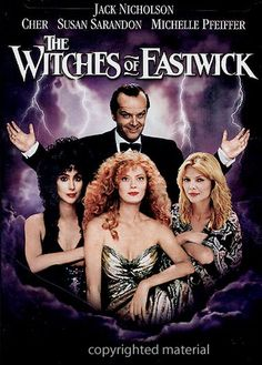 The Witches Of Eastwick 1987 Film 90s Movies, Great Movies, Horror Movies, See Movie, Movie Tv, The Witches Of Eastwick, Foto Poster, Movie Blog, Movies Worth Watching