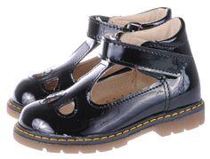 Balerina 2113-99 czarny lakier  Black girls shoes