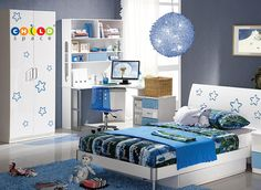 Stylized bedroom units for the little prince or princess. For more variety in bedroom units Plz. visit us @ http://www.childspace.co.in/bedroom-units.php or call us to +91 9740377553