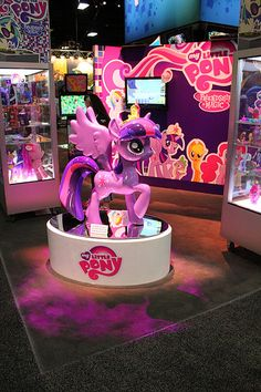 That's pretty. #LittlePony #SDCC San Diego Comic-Con 2013 Preview Night