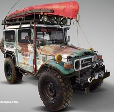 Land Cruiser Of The Day! – Enter the world of Toyota Land Cruisers 4x4 Trucks, Rc Cars And Trucks, Toyota Trucks, Toyota Cars, Jeep Truck, Lifted Trucks, Lifted Ford, Ford Trucks, Diesel Trucks