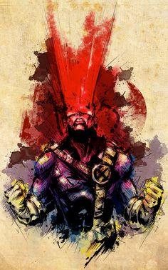 Cyclops- not a huge fan of him but fantastic art