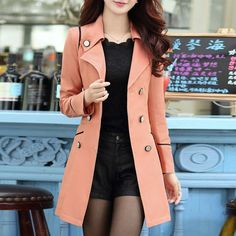 2016 Hot Sale New Fashion Trench Coat