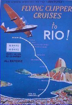"Rio - Pan American, ""Flying Clipper Cruises"""
