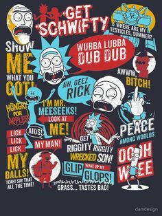 Imágenes de Rick y Morty :DDDDD DISFRUTEEEN CTM!!! Actualización … #detodo # De Todo # amreading # books # wattpad