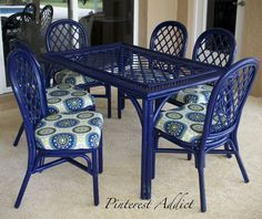 Rustoleum Navy Blue Paint and Thompsons Waterseal Fabric Seal
