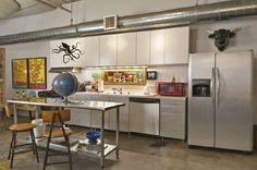 Casinha colorida: Um loft em Los Angelas absolutamente kitsch