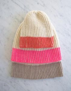Color Dipped Hat | The Purl Bee