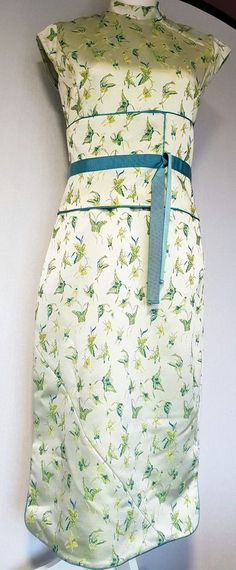 6a5576a3f5 Exquisite KAREN MILLEN Oriental corset kimono dress, Size 12 (10-12)