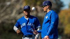 Marcus Stroman wasn't as consistent as he wanted to be in his first full season in the major leagues last year. So the Blue Jays right-hand. Marcus Stroman, Major League, Sports News, Jay, Wellness, Baseball Cards, Sayings, Blue, Lyrics