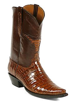 786b1d430fbd American Alligator Boots Style 184 Custom-Made by Black Jack Boots