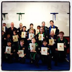 Green Belt Promotion! Congratulations on achieving your next level, keep up the hard work!
