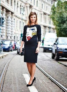 6 Creative Ways to Wear the Pop-art Trend – Glam Radar Pop Art Fashion, I Love Fashion, Art Pop, Street Chic, Street Style, Cool Outfits, Dresses For Work, Style Inspiration, Stylish