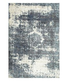 Another great find on #zulily! Blue Lindsy Rug #zulilyfinds