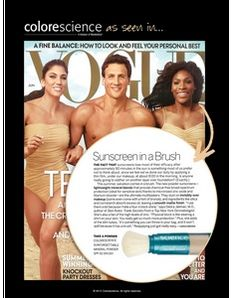 Colorscience Sunforgettable Mineral Powder SPF 50 Brush as seen in this month's Vogue! Board Certified Plastic Surgeons, Mineral Cosmetics, Mineral Powder, Sun Care, Spa Services, Best Self, Plastic Surgery, Vogue, Sunscreen