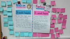 Realism and Fantasy. EXCELLENT for 4th grade teachers!