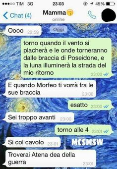 Che disastro i messaggi delle mamme su WhatsApp Funny Relatable Memes, Funny Texts, Funny Twilight, Funny Chat, Pier Paolo Pasolini, Italian Memes, Funny Phrases, Funny Text Messages, Funny Pins