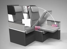 The New Airline Seat That Turns Economy Into Business Class
