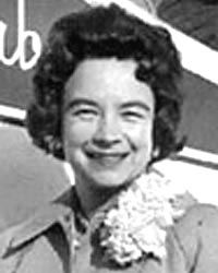 """Geraldine """"Jerrie"""" Fredritz Mock (born November 22, 1925 in Newark, Ohio) was the first woman to fly solo around the world.[1] The trip ended April 17, 1964 and took 29 days, 21 stopovers and almost 22,860 miles"""