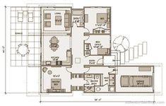 1,550 square feet 1 Story 3 Bedroom 2 Bathroom