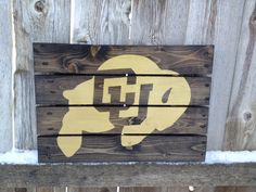 Recycled Pallet University of Colorado #CUBoulder