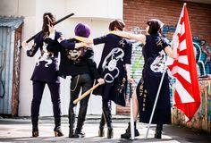 sukeban and her gang