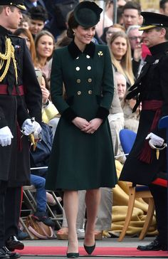 Kate Middleton and Prince William's St. Patrick's Day Outing