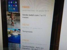 Bebê é anunciado em site de vendas no Espirito Santo; Suspeito é da família: ift.tt/2mRTqgc