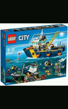 LEGO Deep Sea Exploration Vessel CITY Set 60095 w Submarine, Shipwreck, Sharks in Toys & Hobbies, Building Toys, LEGO | eBay