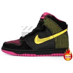 d2a293b6e8ed Mens Nike Dunk 6.0 High Black Midwest Gold