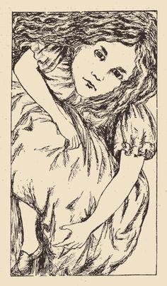 Alice's Adventures Underground. Illustration : Lewis Carroll.