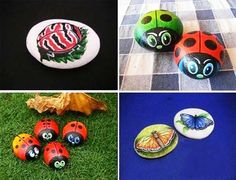 rockpainting craft ideas