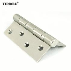 4 stainless steel door hinges