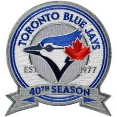 MLB Baseball 2016 Toronto Blue Jays Jersey Patch Season Anniversary Sleeve in Jerseys. Mlb Team Logos, Mlb Teams, Sports Teams, Sports Logo, Baseball Pictures, Baseball Stuff, Toronto Blue Jays, Go Blue, Sports Art