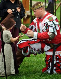 Such a sweet story.  The Dream Realized | The Compleatly Dressed Anachronist