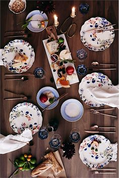 Plates and Napkins from Anthropologie