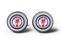 FC POMMERN STRALSUND CUFFLINKS MANSCHETTENKNÖPFE #cufflinks #christmaspresent #footballcufflinks