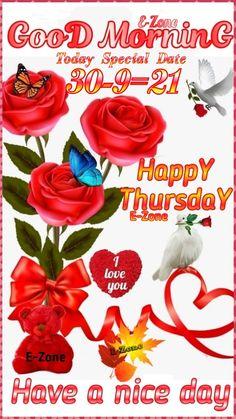 Good Morning Thursday, Happy Thursday