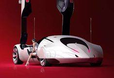 Futuristic Dream Cars: Awesome Automotive Marvels With Back Stories