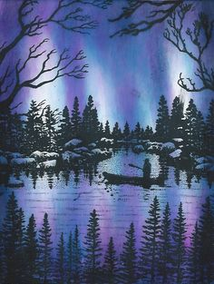 AURORA LIGHTS II by The Griz - Cards and Paper Crafts at Splitcoaststampers