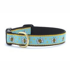 Bumble Bee Dog Collar By Up Country