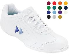 d78ac2b5659ce1 Kaepa Delta Womens Cheer Shoes White Cheerleading Shoes