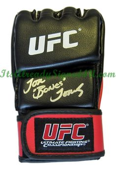 Jon Jones Autographed UFC Glove MMA Light Heavyweight Champion Bones $149.95 8531 Santa Monica Blvd West Hollywood, CA 90069 - Call or stop by anytime. UPDATE: Now ANYONE can call our Drug and Drama Helpline Free at 310-855-9168.