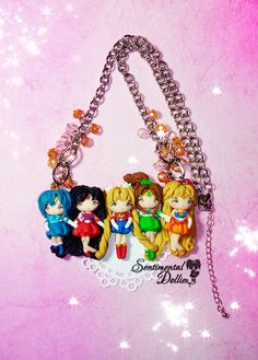 Sailor Moon Necklace Sailor Moon Jewelry by SentimentalDollieZ, $110.00