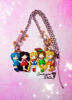 Sailor Moon Necklace Sailor Moon Jewelry by SentimentalDollieZ, $110.00