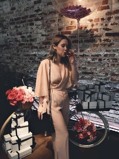 Fresh Beauty launch event for the newest edition to their Rose Collection - Zara jumpsuit