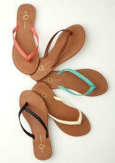 Mindy Sandal - $14.90 Alloy. #sandal #summer #flat #braided