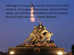 daniel webster memorial day quotes