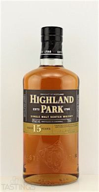 Highland Park 15 Year Old Single Malt Scotch Whisky