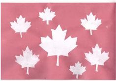 Canada INspired Crafts - Stencil Printing of Maple Leaves Stencil Printing, Maple Leaves, Canada Day, Summer Fun, Cool Kids, Red And White, Stencils, Bird, Inspired